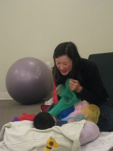 Playing with Your Baby & Promoting Development at 4 Months