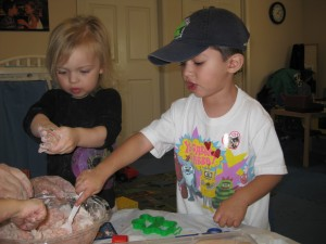 Early Childhood Home Made Play Doh