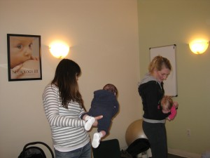 "The ""Tummy Time"" Dance is a great way to get in 3 minutes of  ""Tummy Time"" while having fun with your baby!"