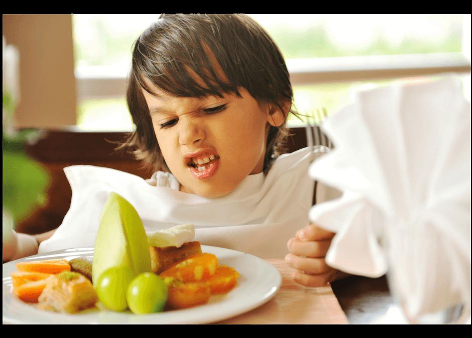 Managing Toddler Food Wars