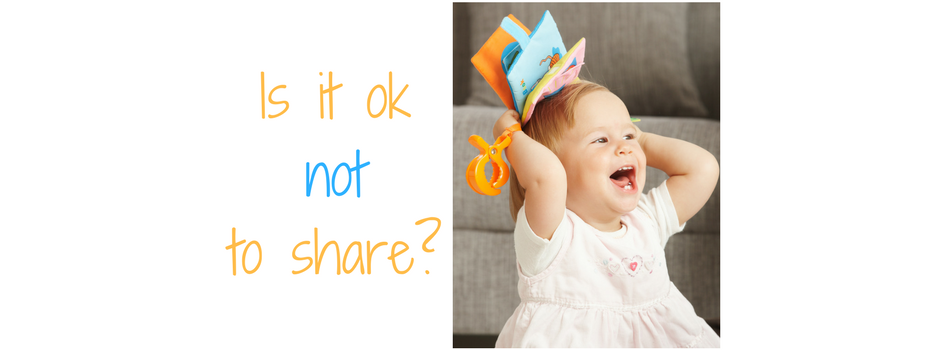 The dilemma of sharing in young children