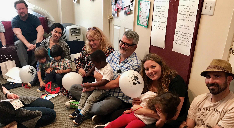 Early Childhood Development associates' gratuation party