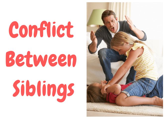 Stay Calm…Siblings Fight. Here's What to Do!