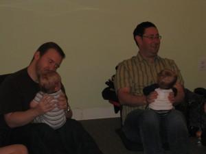 """Dads do """"Row, Row,"""""""