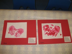 Mommy, Daddy and Me Groups – Celebrating Valentine's Day