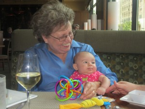 Grandma's Visit to Houston with her Favorite Developmental Toys