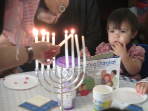Celebrating Hanukkah at ECDA