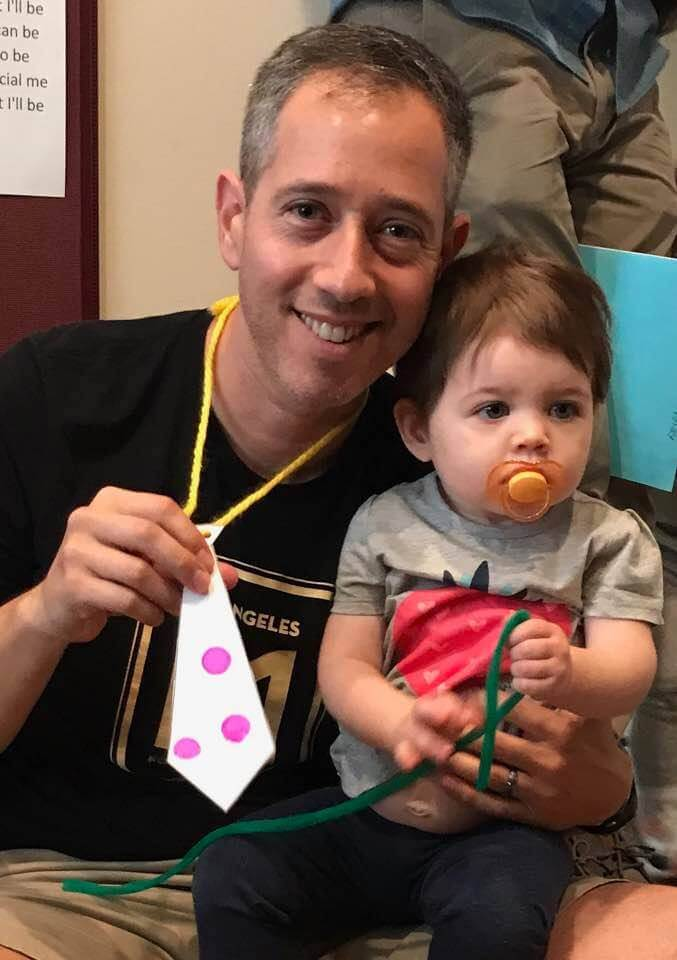 celebrating father's day at early childhood development associates