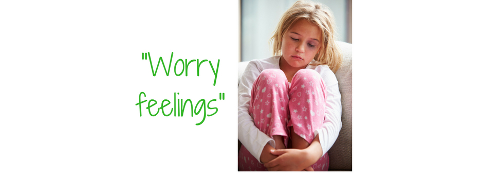 """Worry feelings"" picture of girl that seems worried"