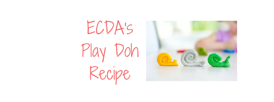 Recipe – ECDA's Home Made Play Doh