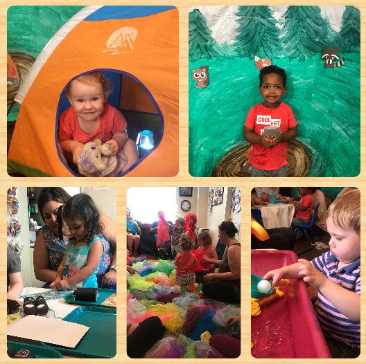 Summer Preschool Prep 2018: Week 3 A Camping We Will Go