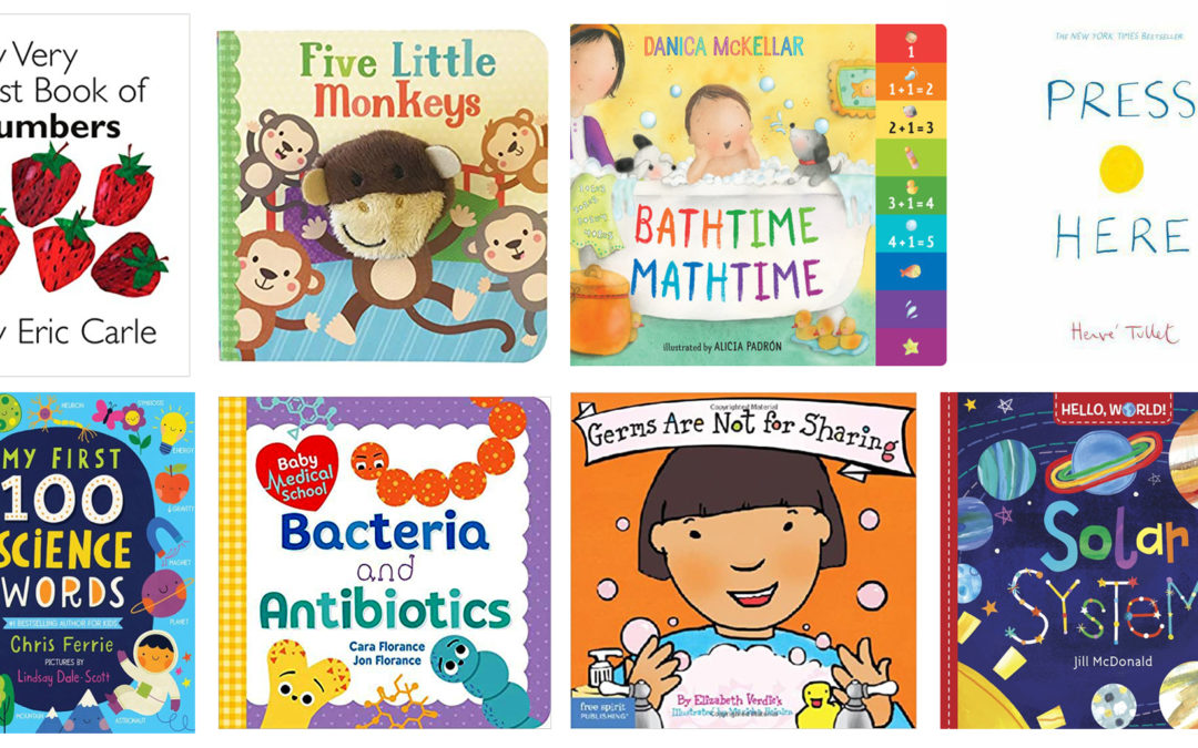 Our Book Recommendations – Part 3: Math and Science for Toddlers